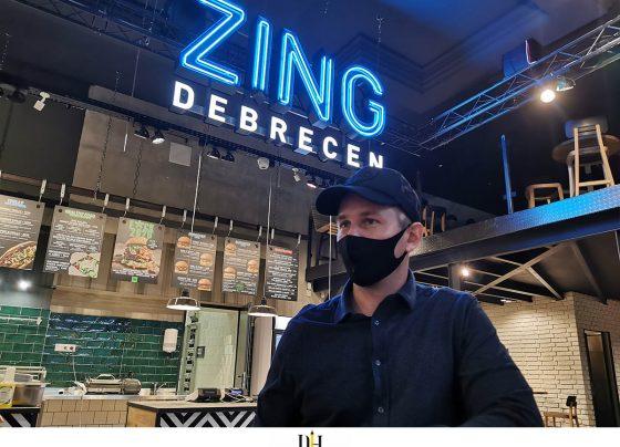 Susánszky Ádám, a ZING Burger társalapítója