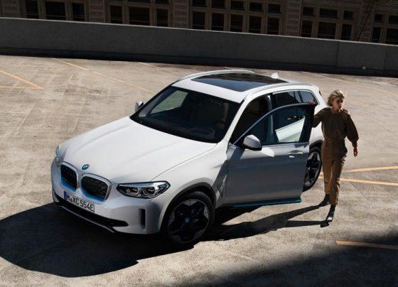 Az új, teljesen elektromos hajtású BMW ix3