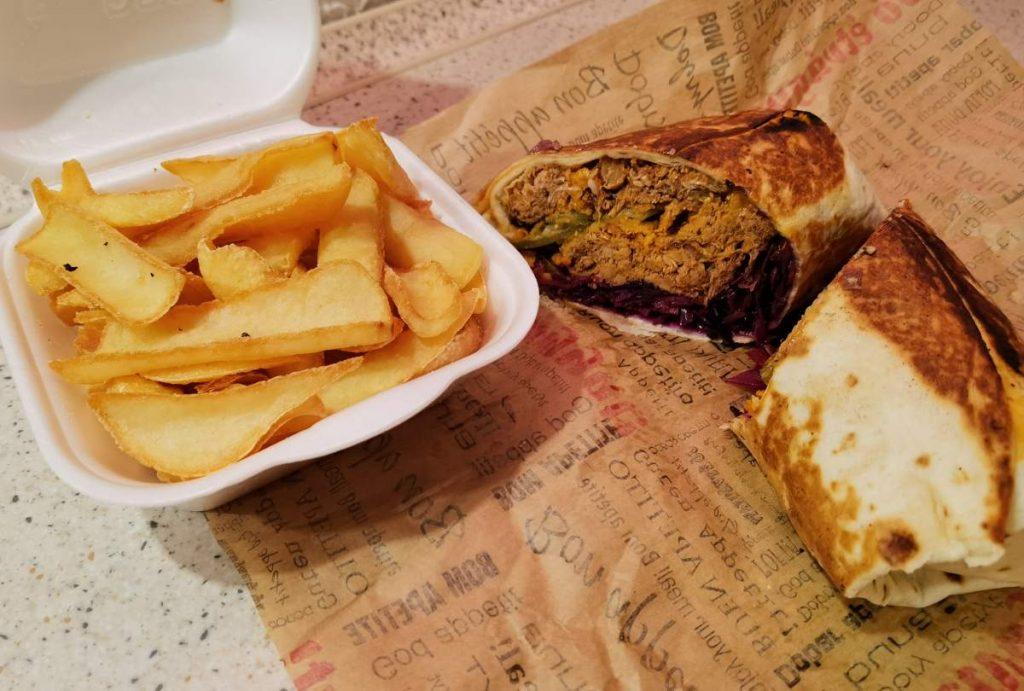 Pin Up Diner Torilla tépett hússal