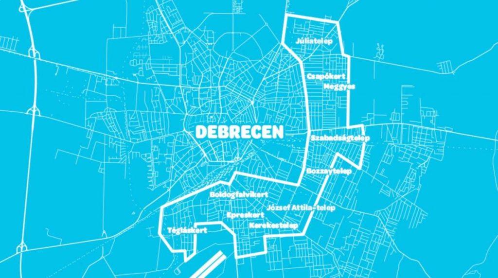 Wolt területbővülés Debrecenben