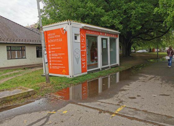 Könyvkölcsönző automata költözött a Tócóskertbe