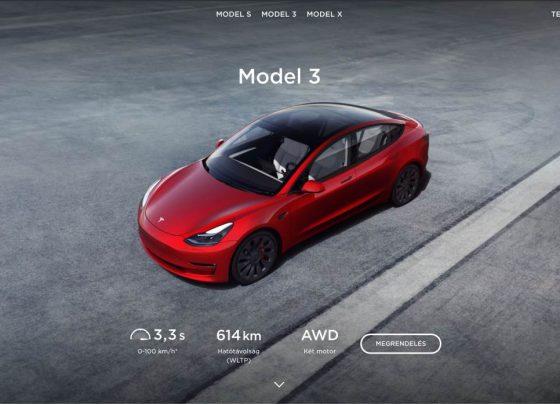Megindult a hivatalos Tesla forgalmazás Magyarországon