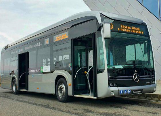 12 új elektromos Mercedes buszt vásárolhat a DKV